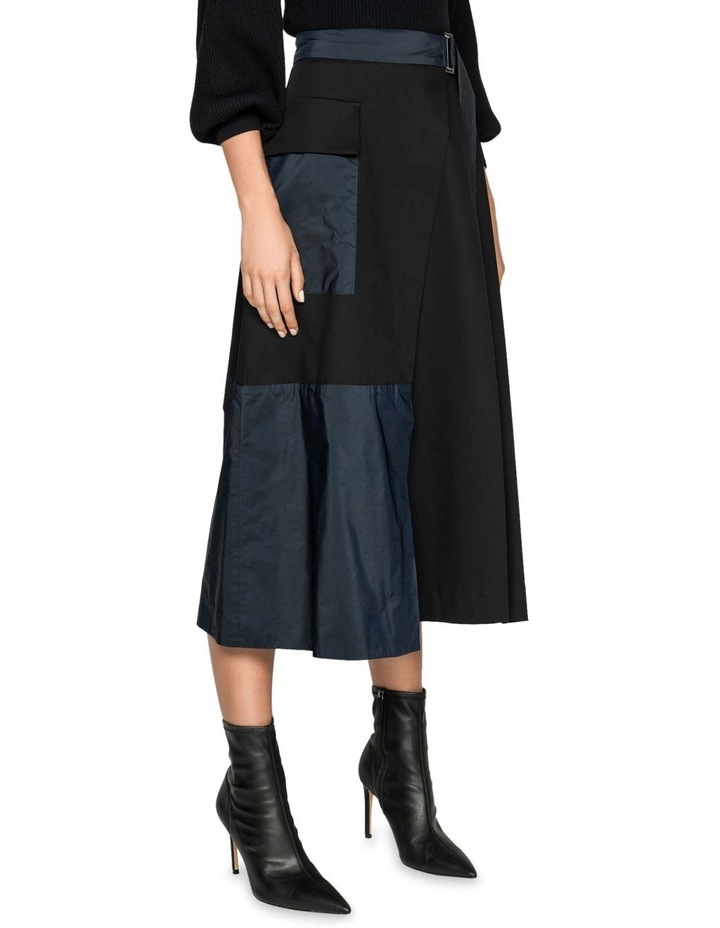 Organic Cotton Wrap Skirt image 2