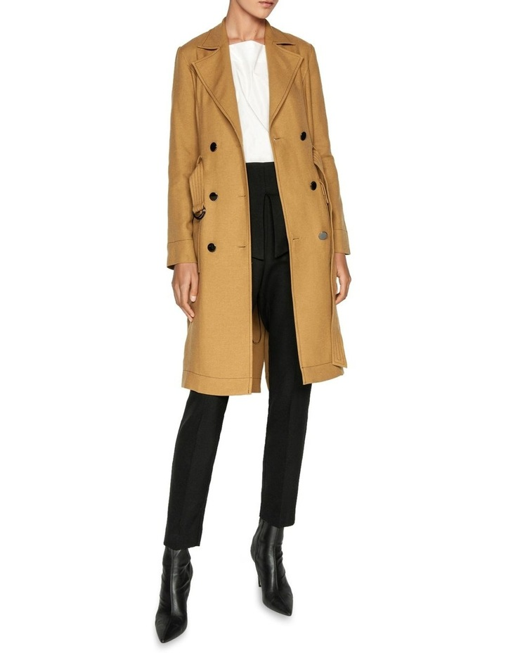 Linen Blend Trench image 1