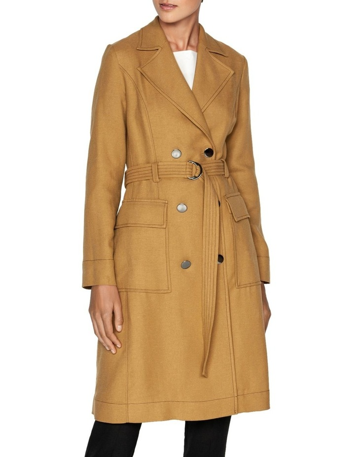 Linen Blend Trench image 2