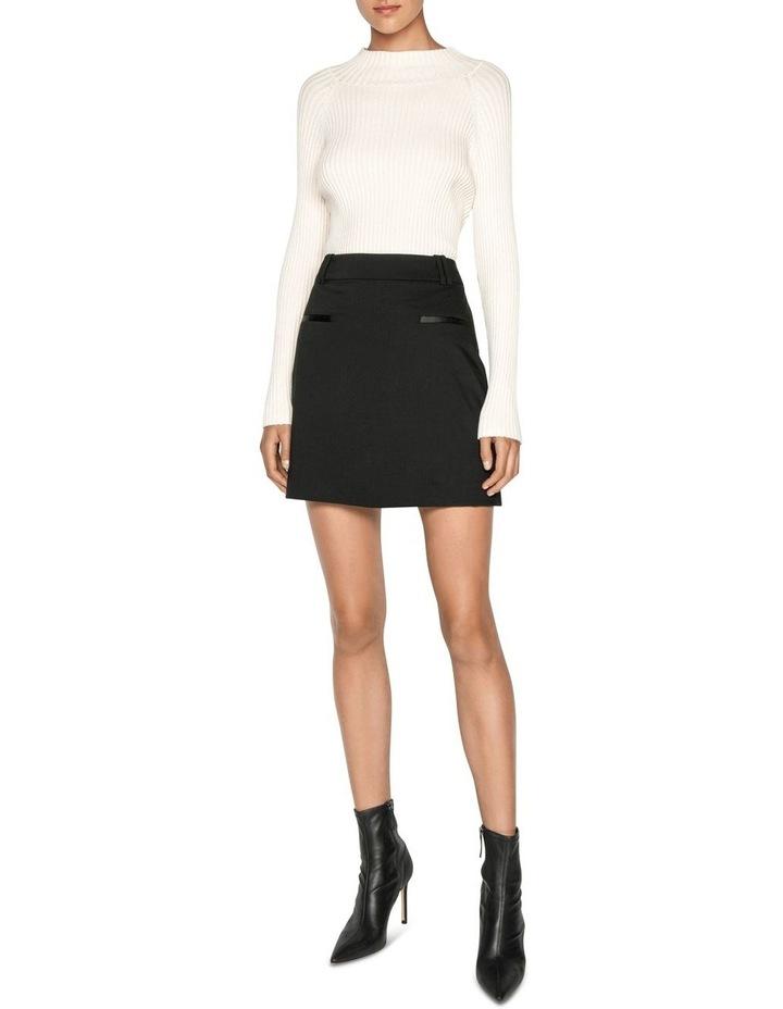 Wool Mini Skirt image 1