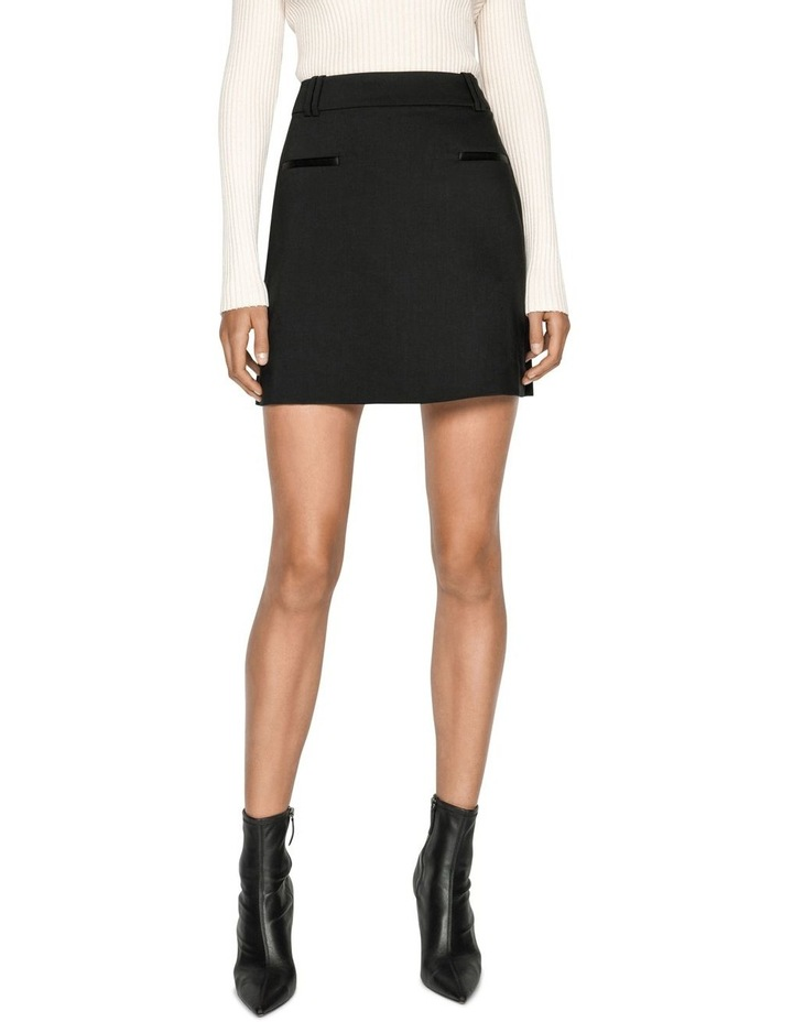 Wool Mini Skirt image 2