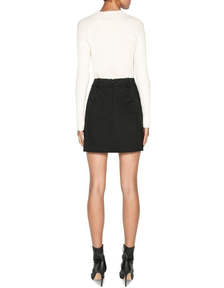 Wool Mini Skirt image 3