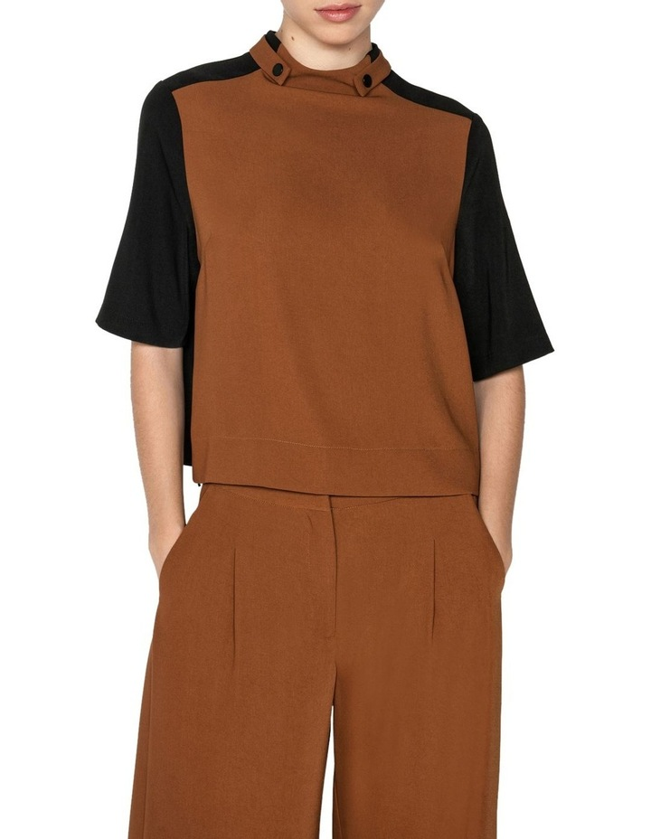Drapey Funnel Neck Top image 2