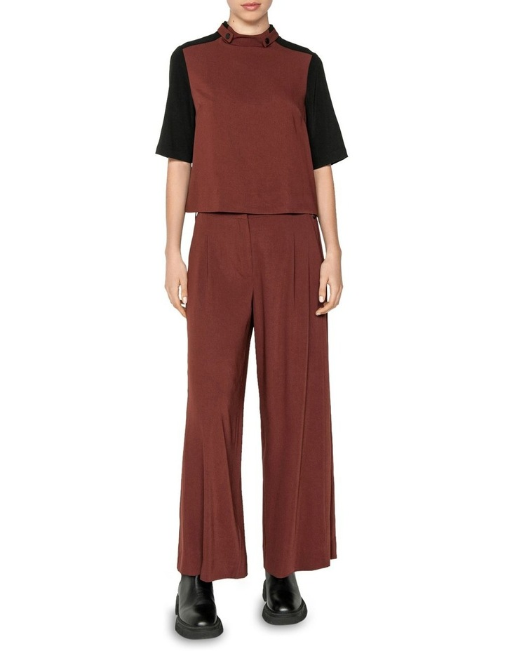 Drapey Funnel Neck Top image 1