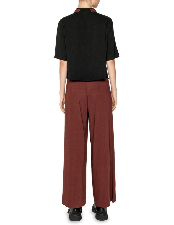 Drapey Funnel Neck Top image 3