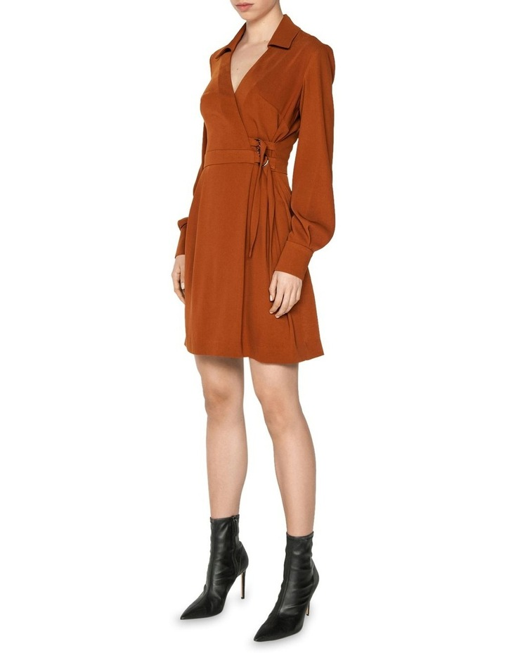 Drapey Wrap Front Mini Dress image 1