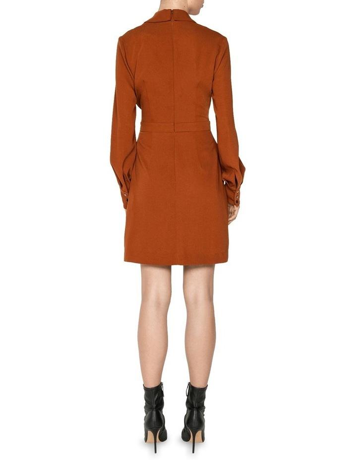Drapey Wrap Front Mini Dress image 3