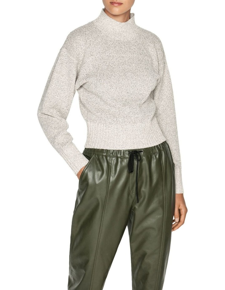 Boucle Funnel Neck Sweater image 2
