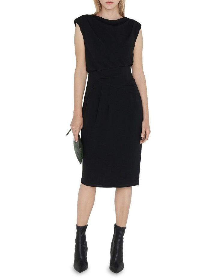 Cowl Neck Pencil Dress image 1