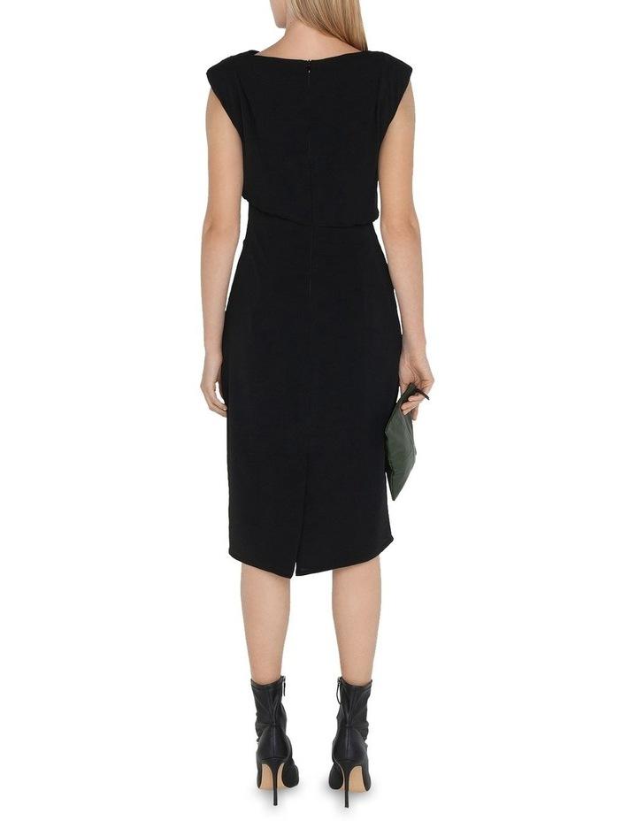 Cowl Neck Pencil Dress image 3