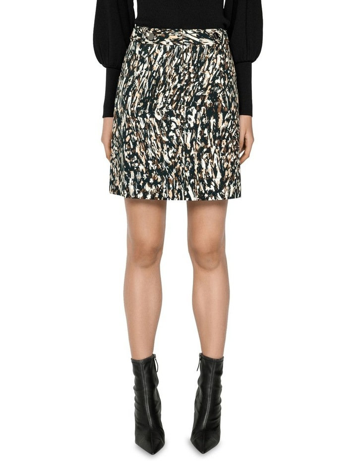Leopard Mini Skirt image 1