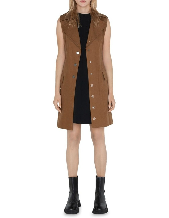 Cotton Trench Dress image 1