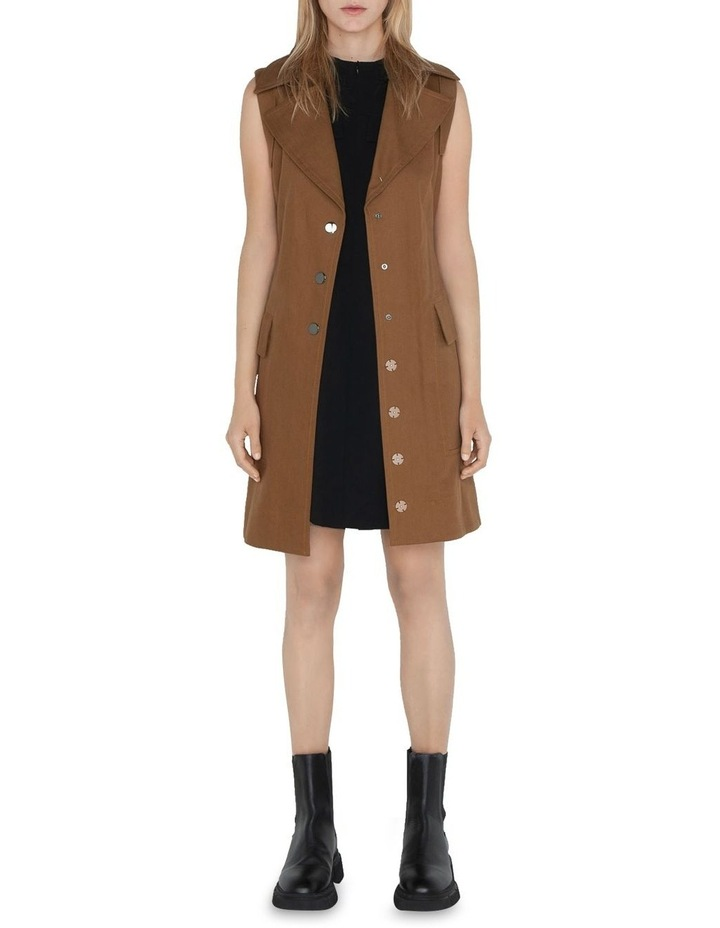 Cotton Trench Dress image 2