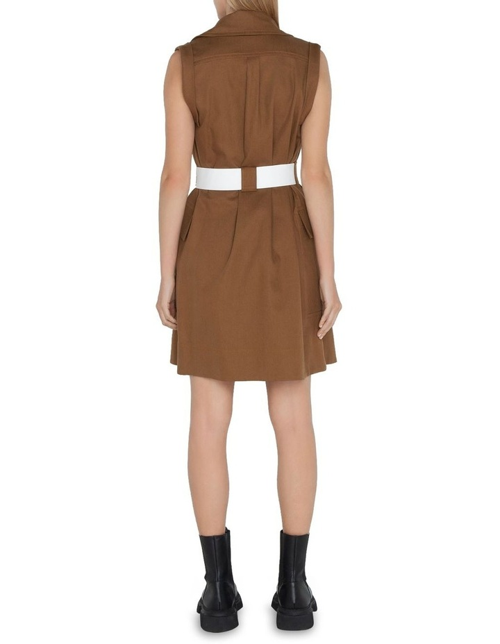 Cotton Trench Dress image 3