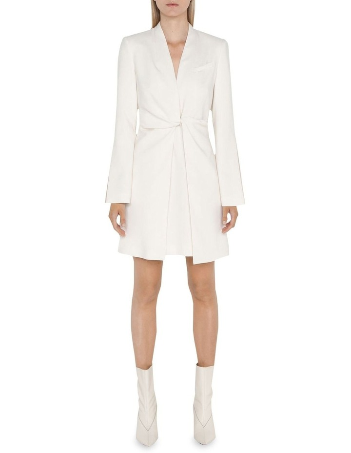 Ivory Twist Front Dress image 1
