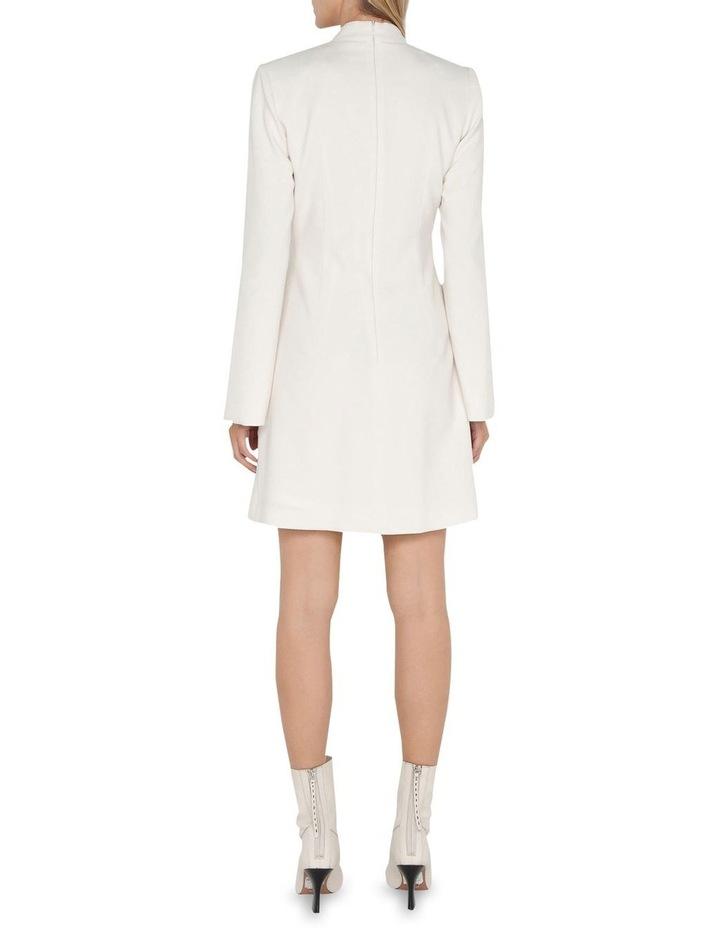 Ivory Twist Front Dress image 3