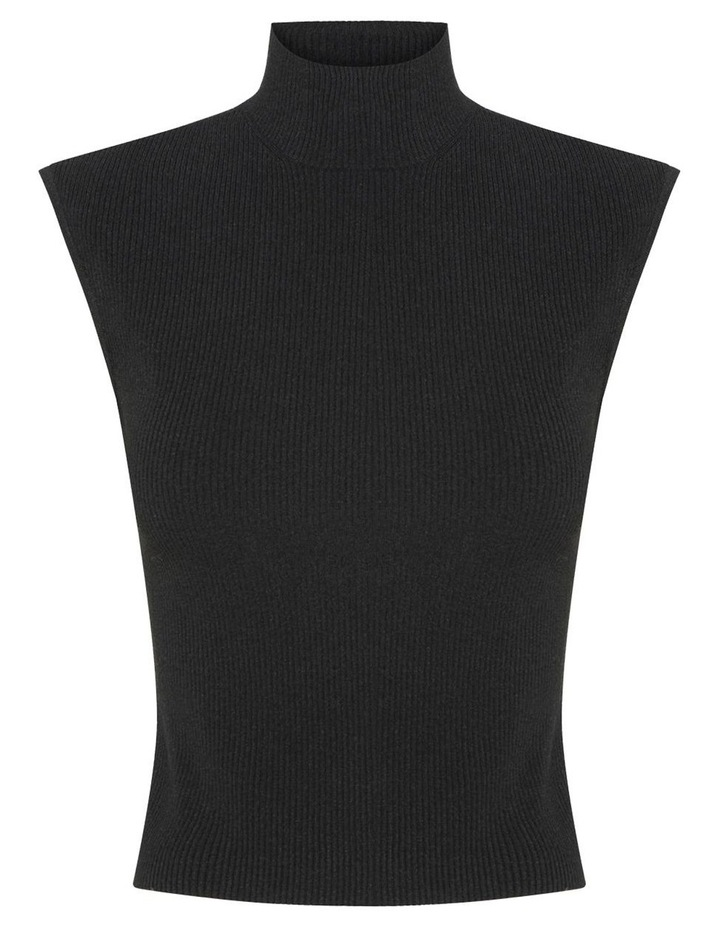 Ribbed Cut Out Back Knit image 7