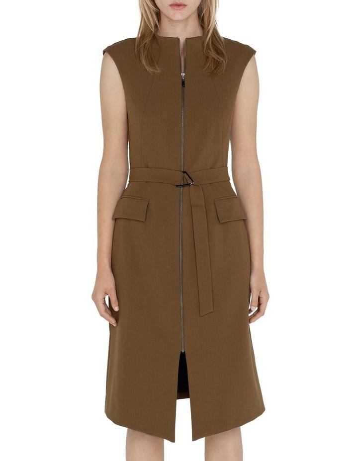 Belted Split Front Dress image 2