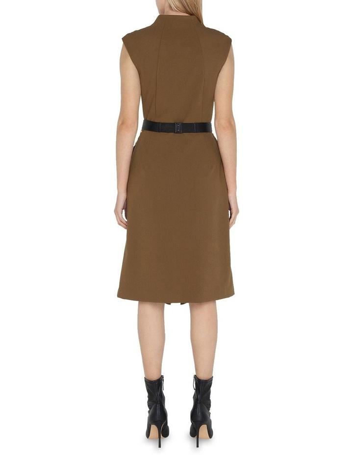 Belted Split Front Dress image 3