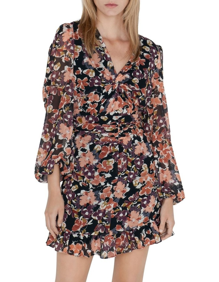 Peony Floral Twist Front Dress image 2