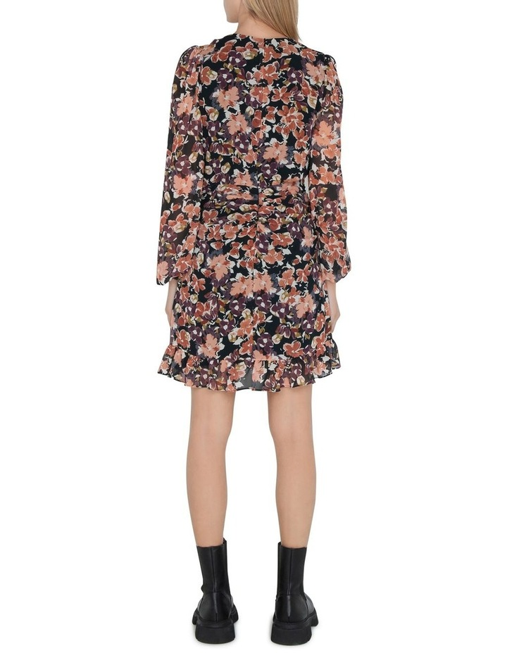 Peony Floral Twist Front Dress image 3