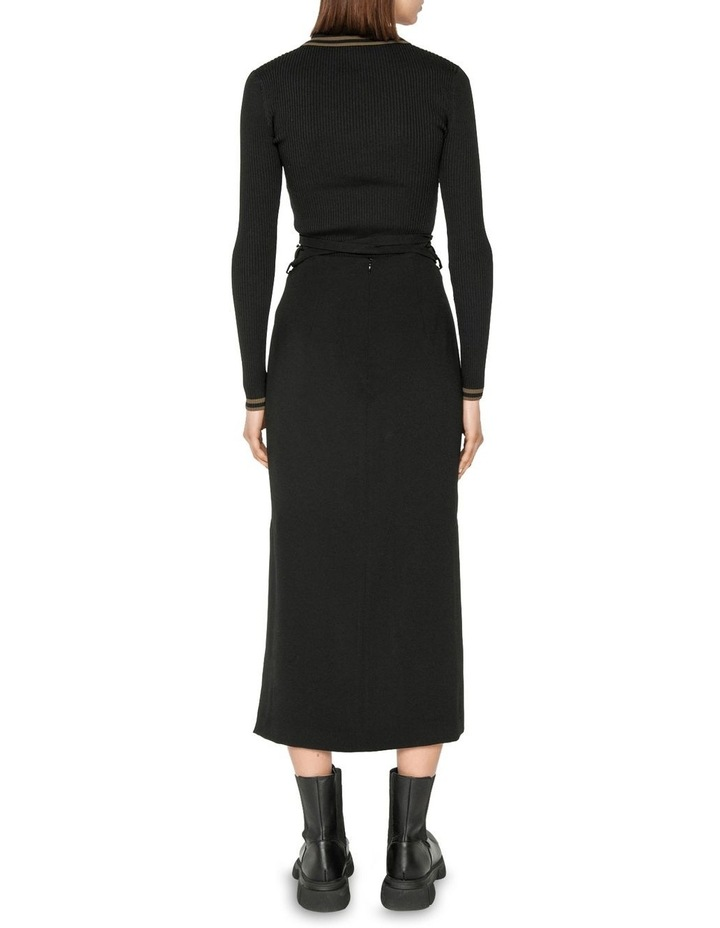 Zip Front Collared Knit image 3