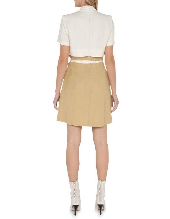 Layered Wrap Mini Dress image 3
