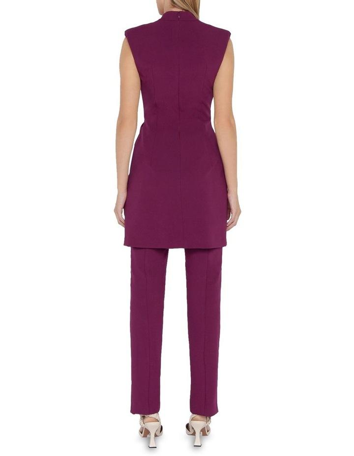 Ultra Fuchsia Twist Front Dress image 2