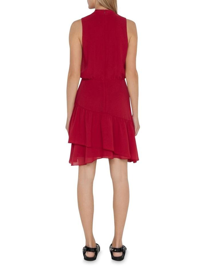 Georgette Frilled Hem Dress image 3