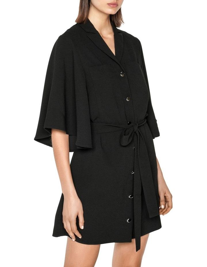 Fluted Sleeve Shirt Dress image 2