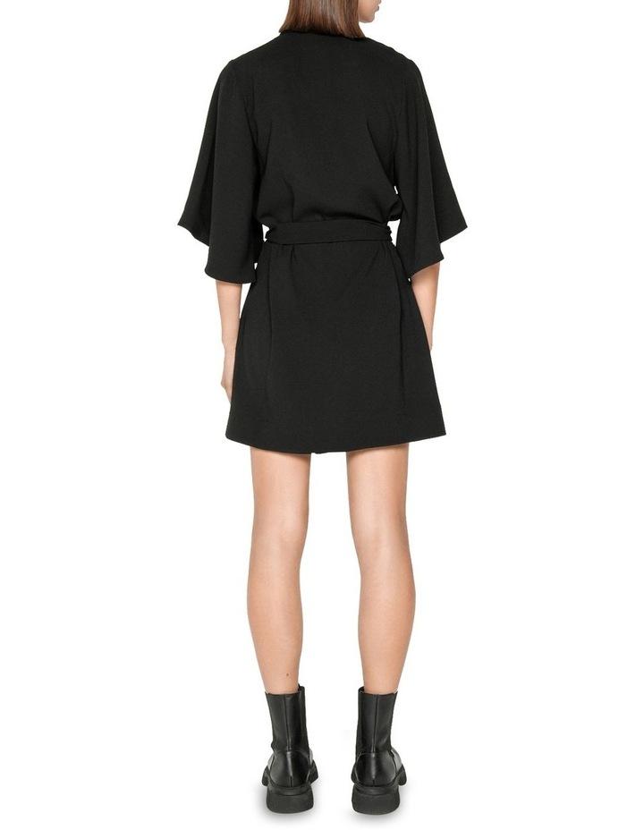 Fluted Sleeve Shirt Dress image 3