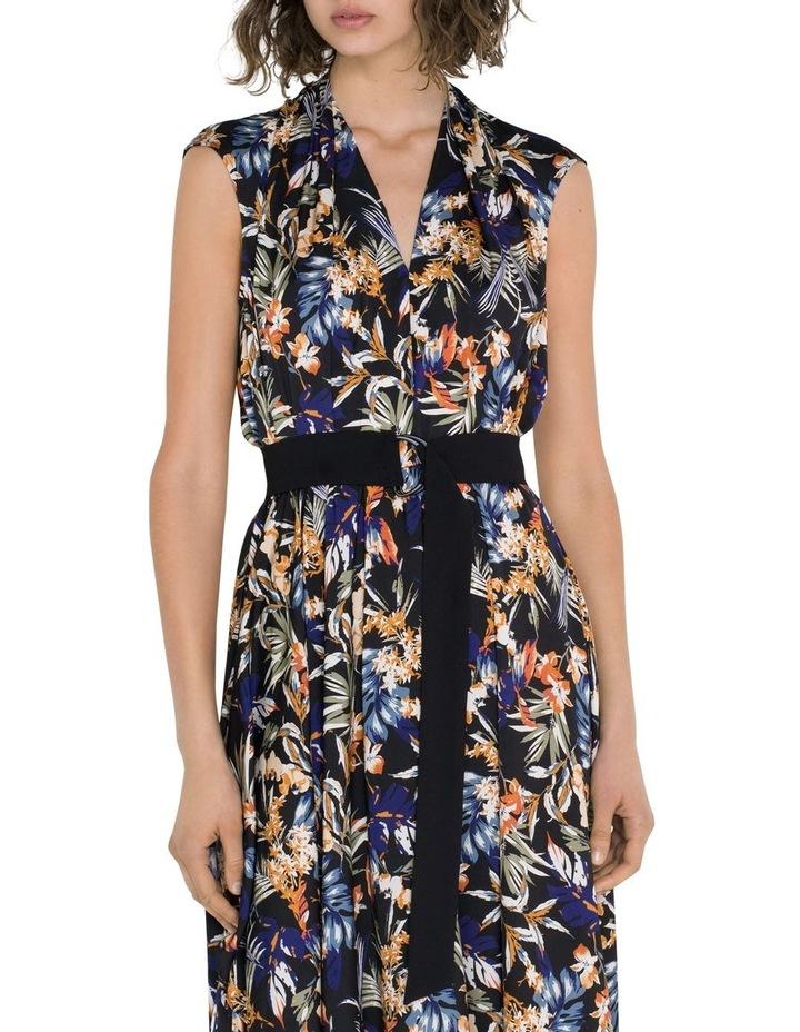 Palm Draped Midi Dress image 2
