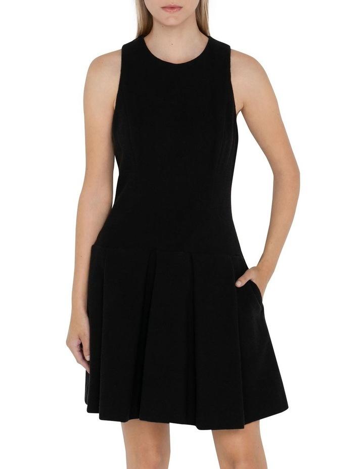 Boucle Tweed Drop Waist Dress image 2