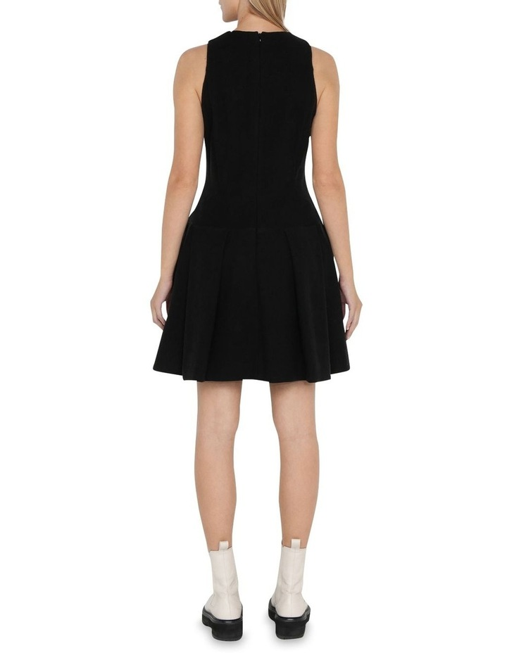 Boucle Tweed Drop Waist Dress image 3