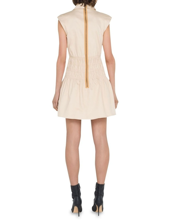 Cotton Shirred Blazer Dress image 3