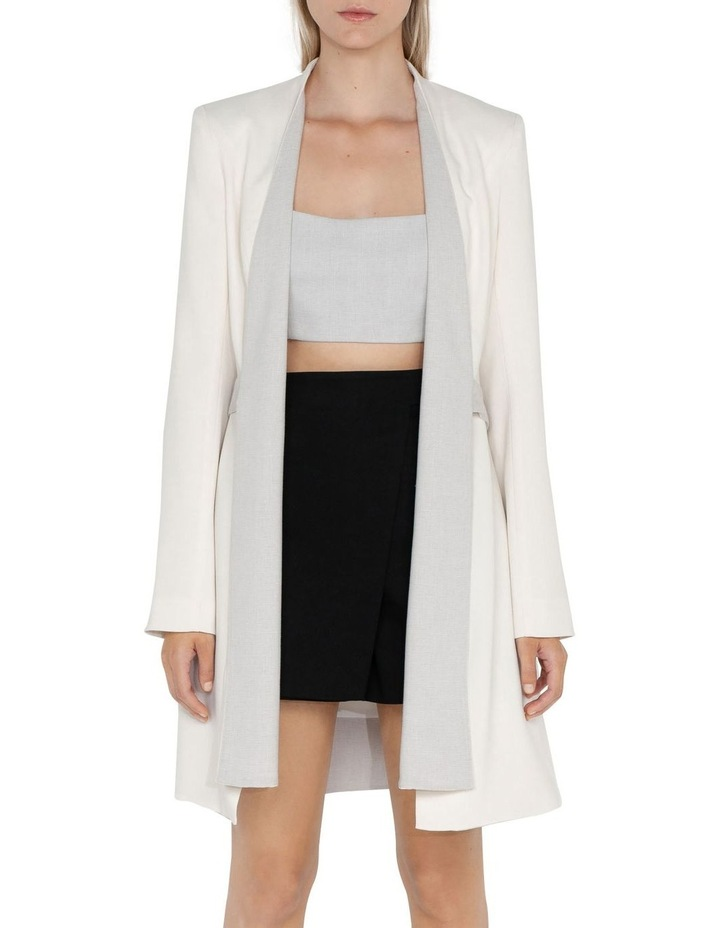 Melange Wrap Front Jacket image 2