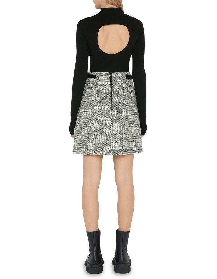 Tweed A-Line Mini Skirt image 3
