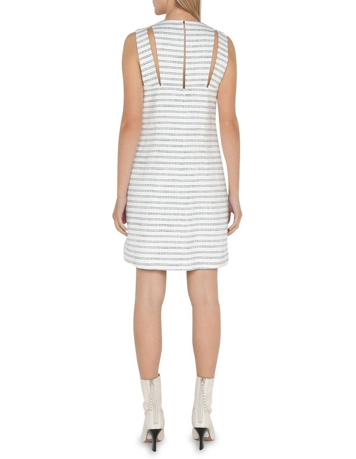 Stripe Tweed Shift Dress image 3