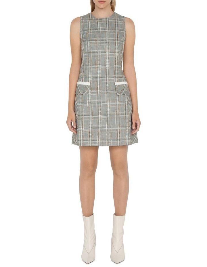 Tweed Check Shift Dress image 1