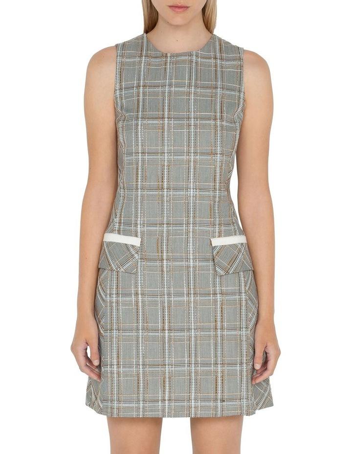 Tweed Check Shift Dress image 2