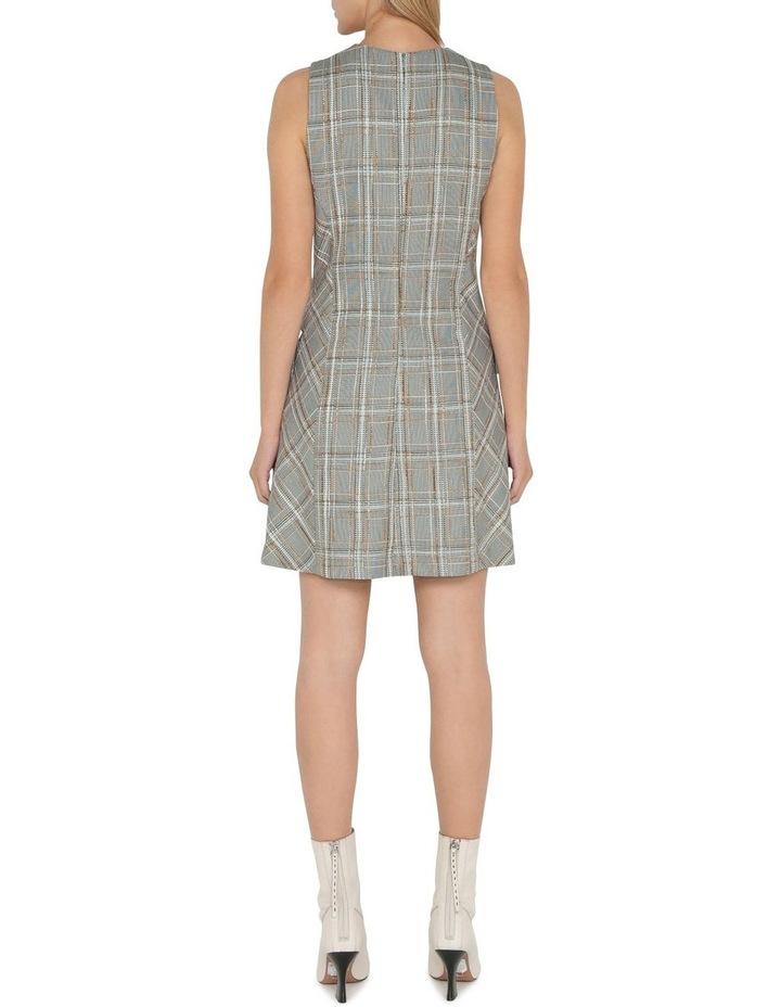 Tweed Check Shift Dress image 3