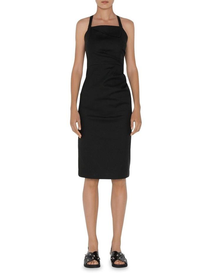 Asymmetric Cross Back Dress image 1
