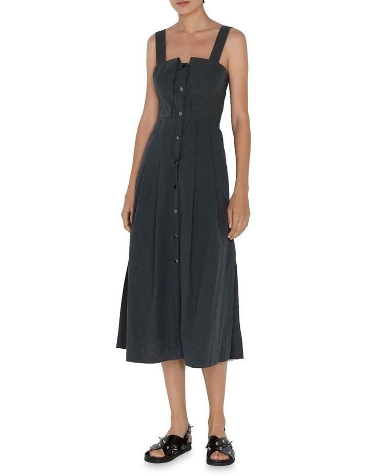 Cotton Snap Front Dress image 1