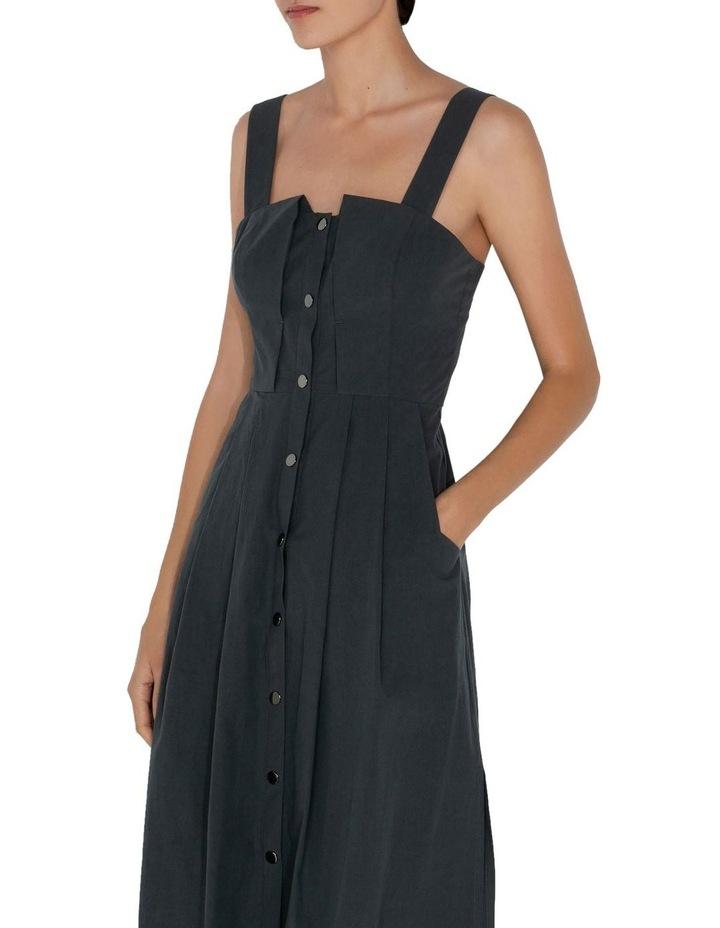 Cotton Snap Front Dress image 2