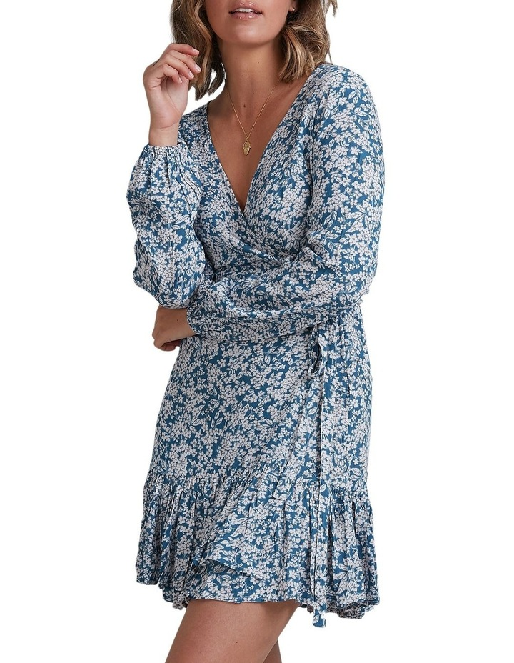 Miami Long Sleeve Wrap Dress image 1