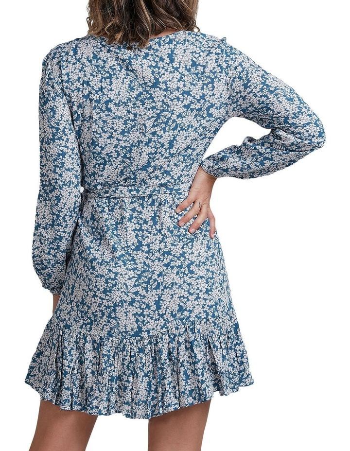 Miami Long Sleeve Wrap Dress image 2