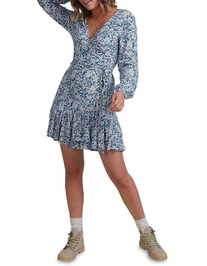 Miami Long Sleeve Wrap Dress image 4