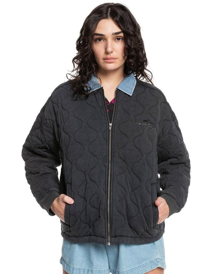 Womens Deeper Ocean Organic Mid-Length Jacket image 1