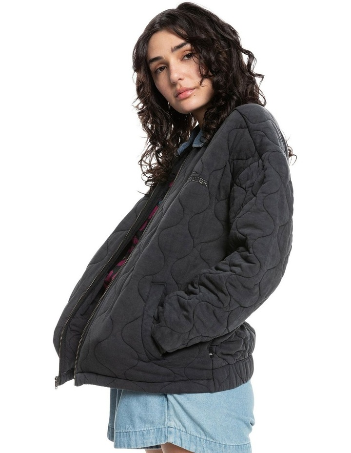 Womens Deeper Ocean Organic Mid-Length Jacket image 2