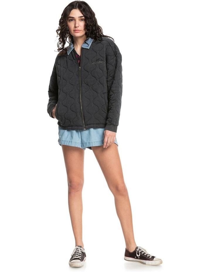 Womens Deeper Ocean Organic Mid-Length Jacket image 4